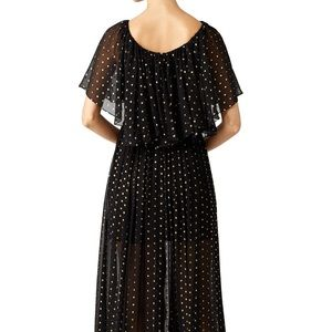 Rebecca Minkoff Dresses - Rebecca Minkoff gold dot ethereal gown
